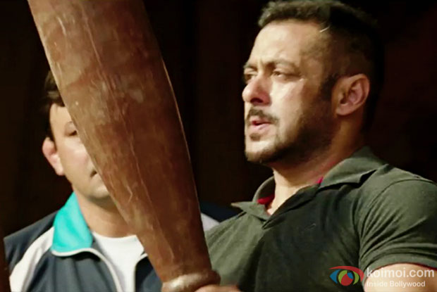 Salman Khan in a still from Sultan
