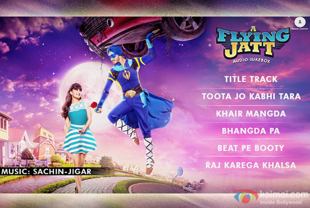A Flying Jatt - Audio Jukebox | Tiger Shroff and Jacqueline Fernandez