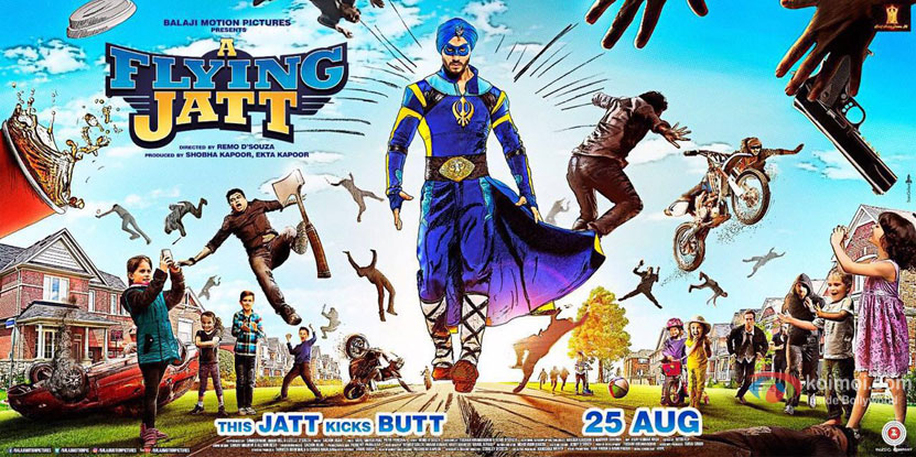 A Flying Jattt New Poster | Ft Tiger Shroof In Fierce Look
