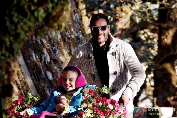 Ajay Devgn Shoots The Music Video For Shivaay's Title Track