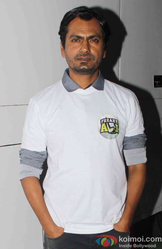 Nawazuddin Siddiqui spotted at mehboob studio