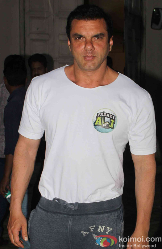 sohil Khan spotted at mehboob studio