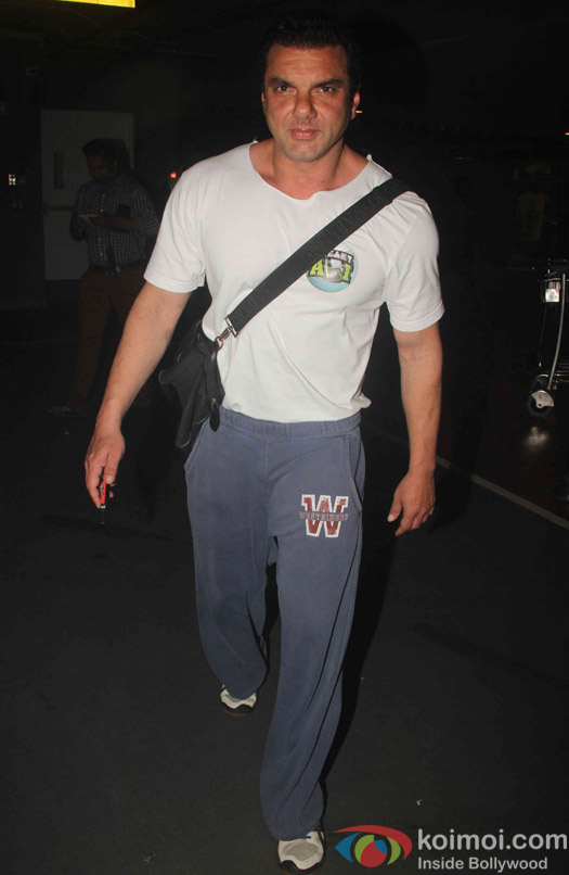 Sohail Khan spotted at Airport