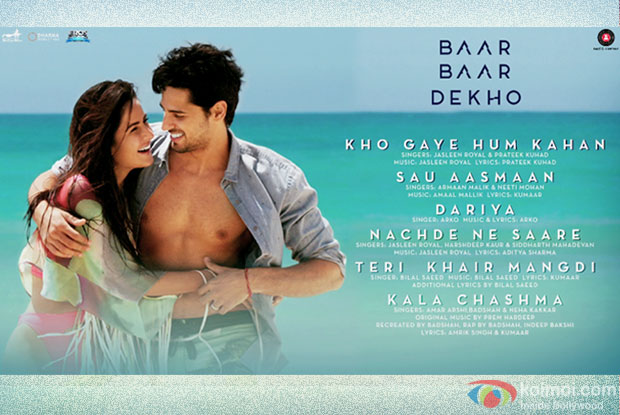 Baar Baar Dekho - Audio Jukebox | Sidharth Malhotra and Katrina Kaif