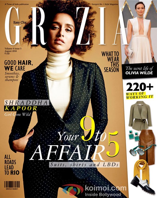 Shraddha Kapoor In A Never Seen Before Avatar On Grazia Cover