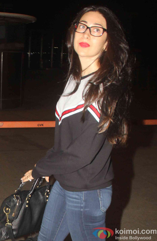 Karisma Kapoor spotted at airport