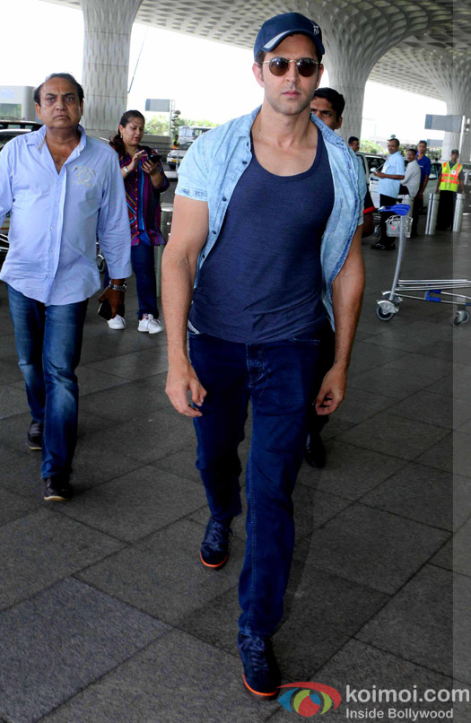 Hrithik Roshan spotted at airport