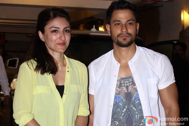 Soha Ali Khan and Kunal Khemu Spotted During the Saif ali Khan's Birthday Celebration