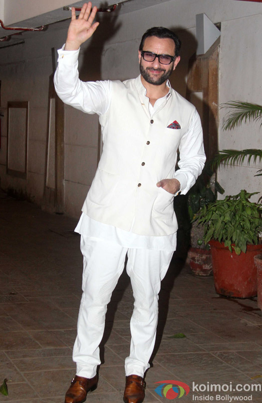Saif ali Khan's Birthday Celebration