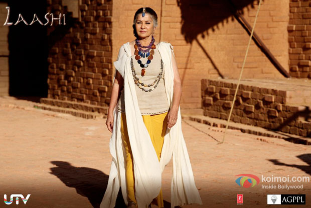 Laashi is Maham's wife. She is a woman with a golden heart and is fond of Chaani in Mohenjo Daro