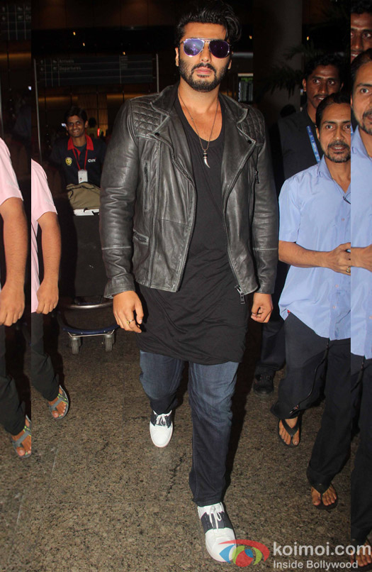 Arjun Kapoor spotted at mumbai airport