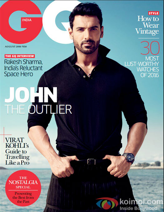 HOT! John Abraham Sizzles On GQ India Magazine