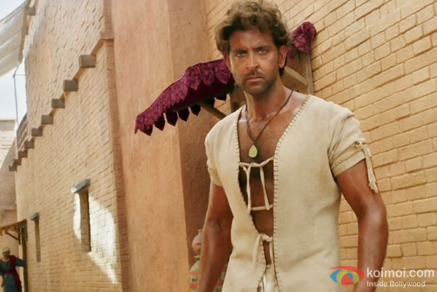 Hrithik Roshan in a still from Mohenjo Daro