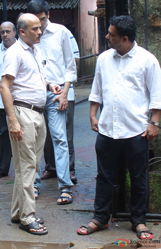 Sooraj Barjatya at Prayer Meet for filmmaker Rajjat Barjatya