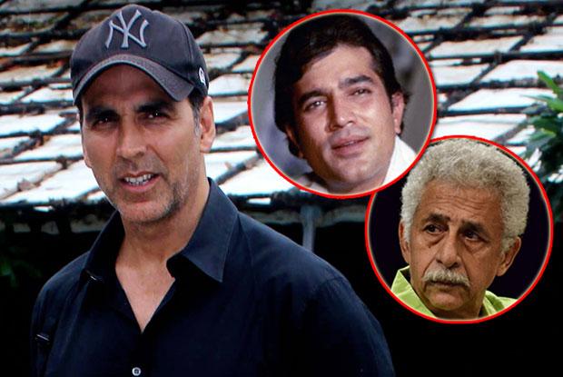 Rajesh Khanna episode over with Naseeruddin's graceful apology: Akshay Kumar