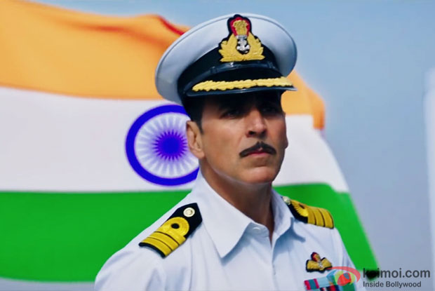 Akshay Kumar in a still from Rustom