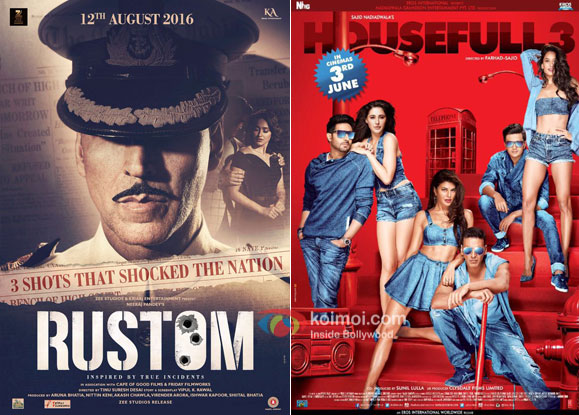 Rustom Surpasses Housefull 3; Becomes 3rd Highest Grosser Of 2016