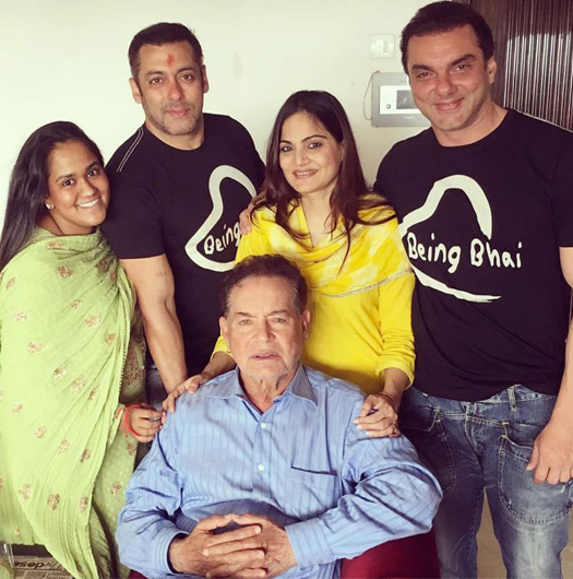 Salman Khan Celebrates Raksha Bandhan With Family
