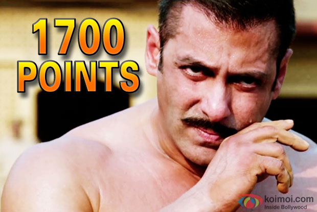 Salman Khan Puts Up A Massive Total At Power Index With Sultan's 300 Cr Feat!