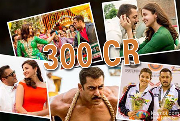 Sultan Crosses 300 Crores On Its 5th Tuesday (35th Day) At The Box Office