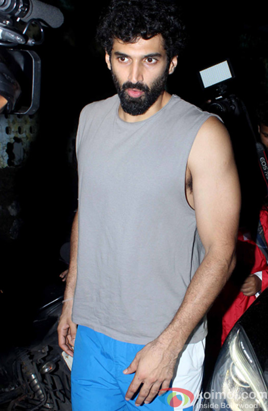 Aditya Roy Kapur snapped At post 'Dream Team Concert' dance practice