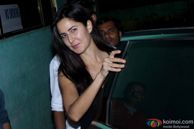 Katrina Kaif snapped At post 'Dream Team Concert' dance practice