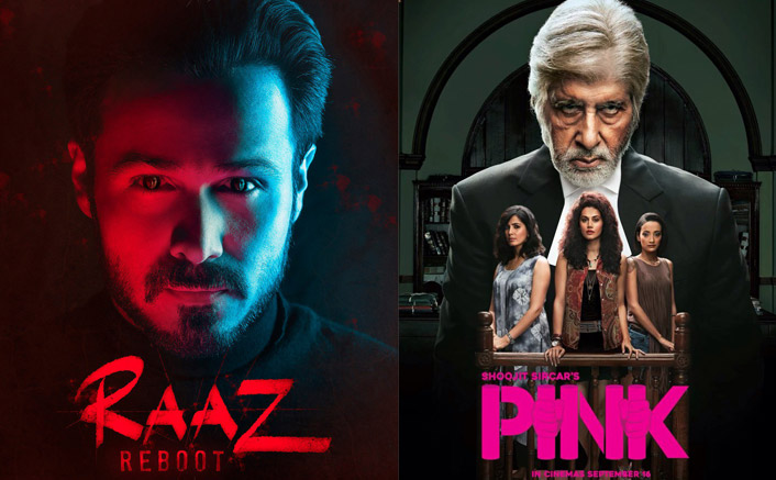 Raaz Reboot Receives Average Opening, Pink Starts Low| Box Office Occupancy Report