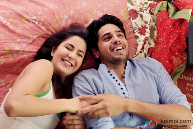 Katrina Kaif and Sidharth Malhotra in a still from Baar Baar Dekho
