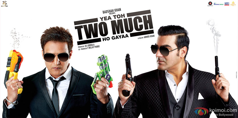 Yea Toh Two Much Ho Gaya Poster