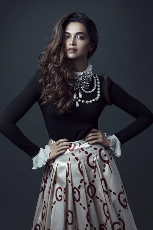 Deepika Padukone Features On International Papper Magazine Cover