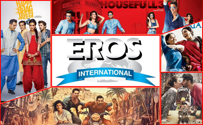 Eros International announced its consolidated financial results