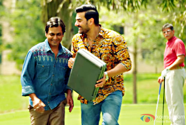 Nawazuddin Siddiqui and Arbaaz Khan in a still from Freaky Ali