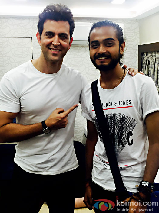 Here's how Hrithik Rohan made his fan's day