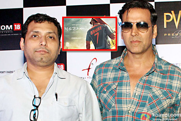 Impossible to cast Akshay Kumar as 'MS Dhoni': Neeraj Pandey