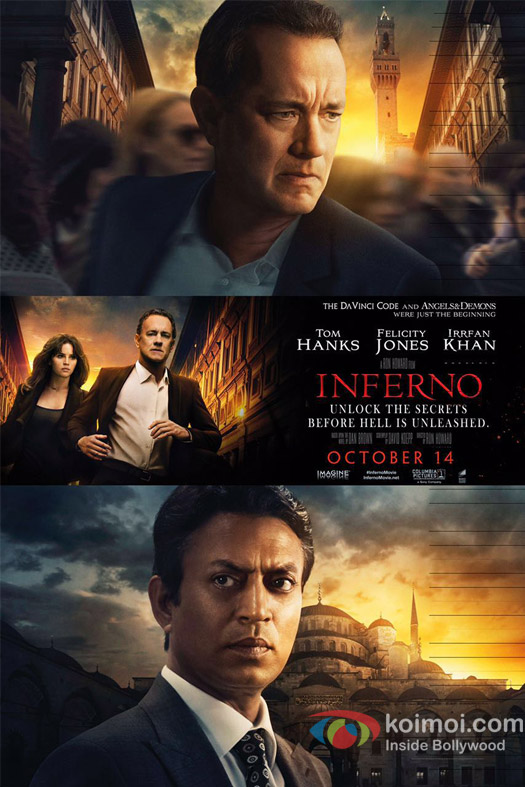 Irrfan Khan's poster of Inferno is out!