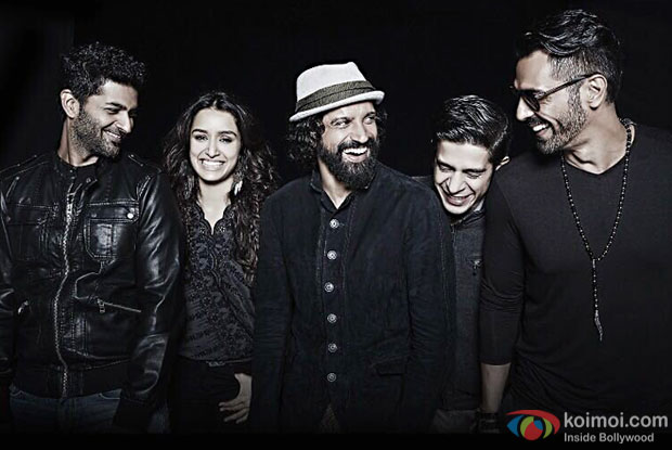 New Still | Rock On 2 Team Band Gets Candidly Clicked