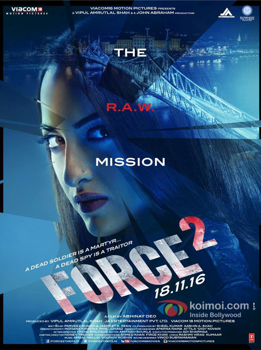 Force 2 Poster: Here's Sonakshi Sinha's Action-Packed Look