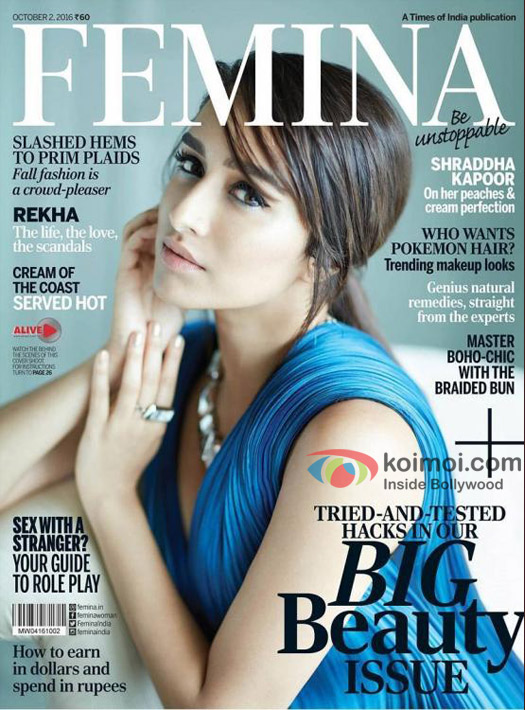 Stunning! Shraddha Kapoor Graces The Latest Cover Of Femina