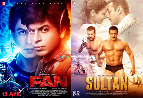 YRFs' Fan & Sultan To Screen At The Prestigious 21st Busan International Film Festival!