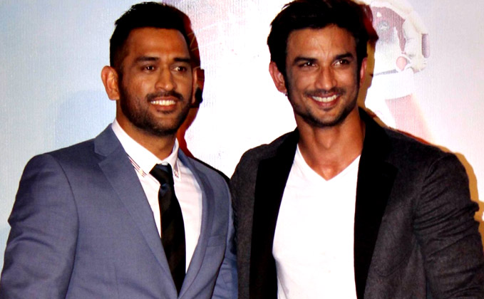 Dhoni applauds Sushant's performance