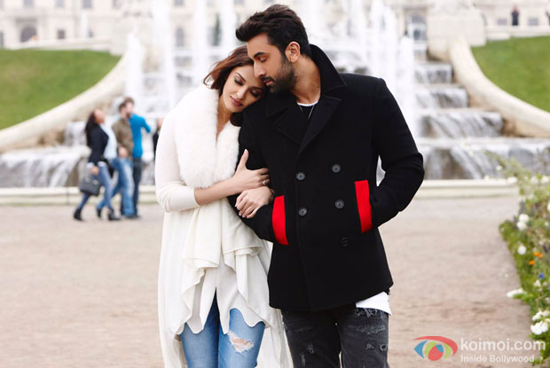 Aishwary Rai Bachchan and Ranbir Kapoor in a still from Ae Dil Hai Mushkil