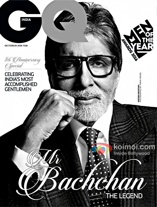 Legend Amitabh Bachchan Graces The GQ India Cover