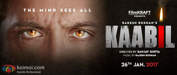 Rakesh Roshan and Sanjay Gupta's 'Kaabil' complete ahead of schedule!