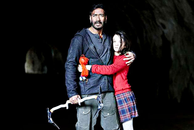 Ajay Devgn in a still from Shivaay