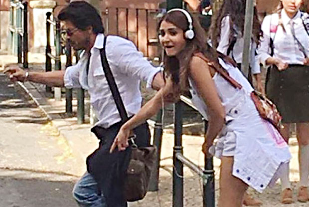SRK says he will miss Anushka Sharma