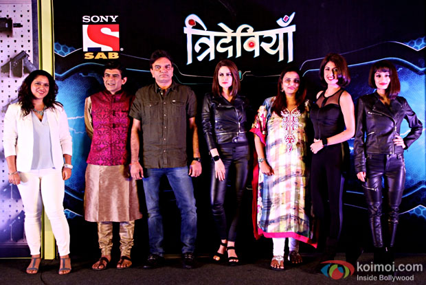 Action packed comedy TV show 'Trideviyaan' launched