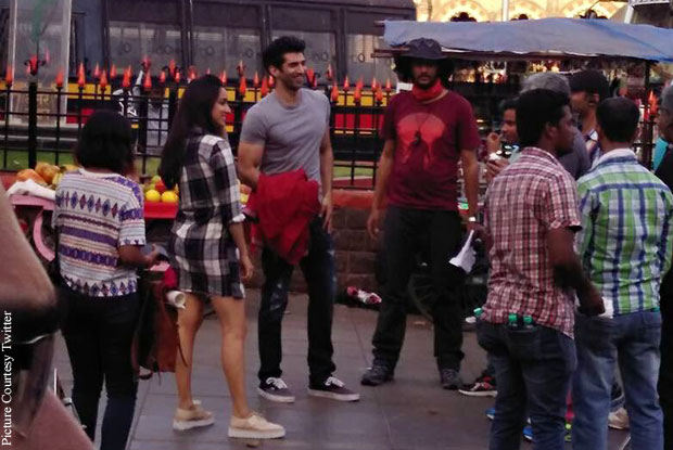 Catch Pics: Shraddha Kapoor, Aditya Roy Kapur On The Sets Of Ok Jaanu