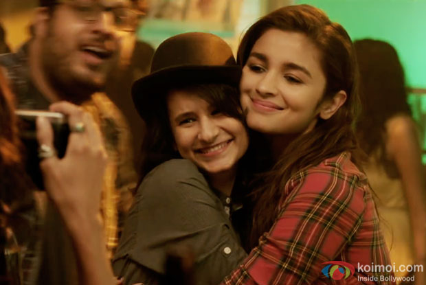 Alia Bhatt in a still from Dear Zindagi