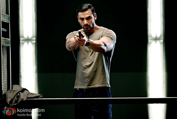 John Abraham in a still from Force 2