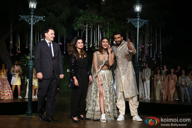 H.E. Mr Alexandre Ziegler, Hosts A Soiree Celebrating Befikre Wiwth Ranveer Singh And Vaani Kapoor